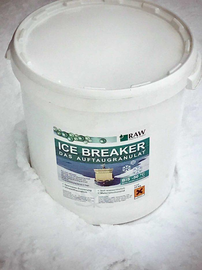 Jääsula raemainen 25kg sanko
