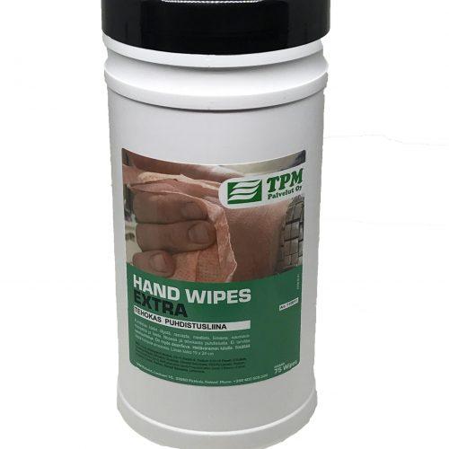 Tehokas puhdistusliina käsille