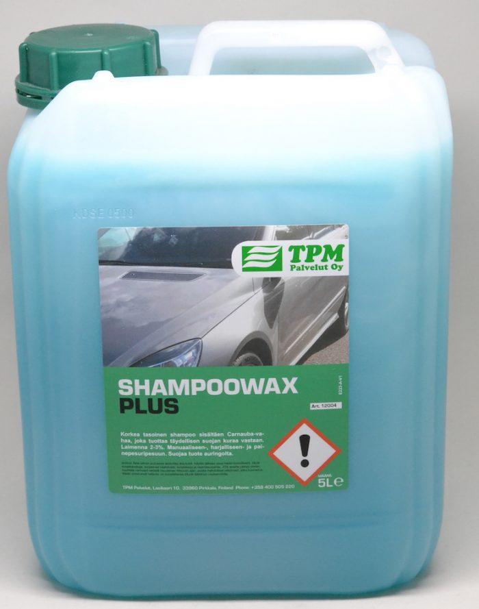 Carnauba-vahaa sisältävä autonpesuaine